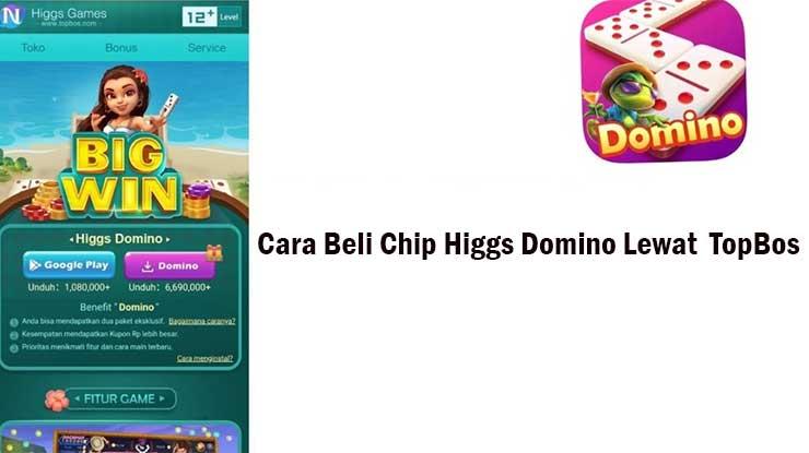 Cara Beli Chip Lewat Situs TopBos Higgs Domino