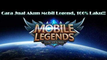 Cara Jual Akun Mobile Legend Lewat Situs & Jasa, 100% Aman!!