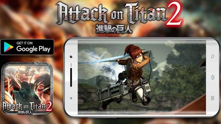 Cara Mabar Attack On Titan 2 Mobile