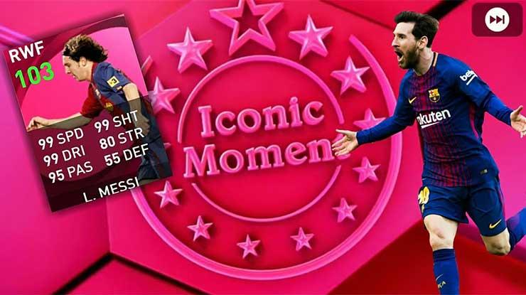 Cara Mendapatkan Iconic Lionel Messi di PES Mobile 2021 Gratis