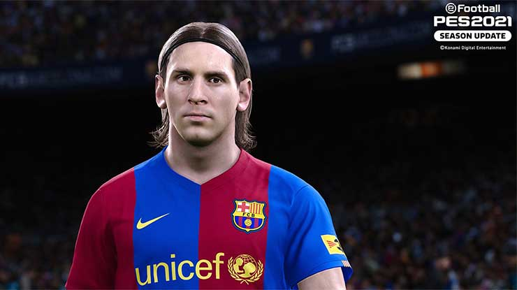 Iconic Moment Lionel Messi PES Mobile 2021