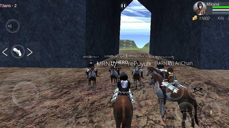 Keunggulan Main Multiplayer Attack On Titan 2 Mobile