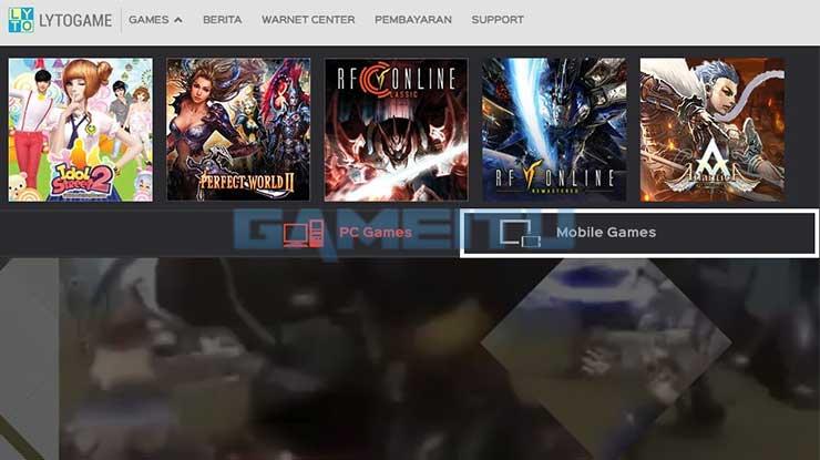 Pilih Mobile Games