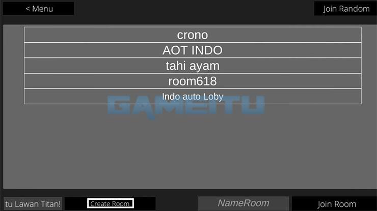 Tap Create Room