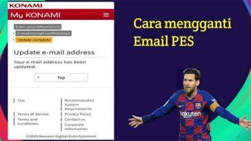 Cara Ganti Email PES 2021 Mobile Akun Lama 100 Aman