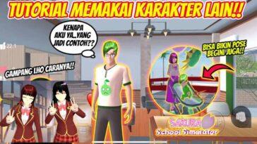 Cara Menggunakan Karakter Lain di Sakura School Simulator 2
