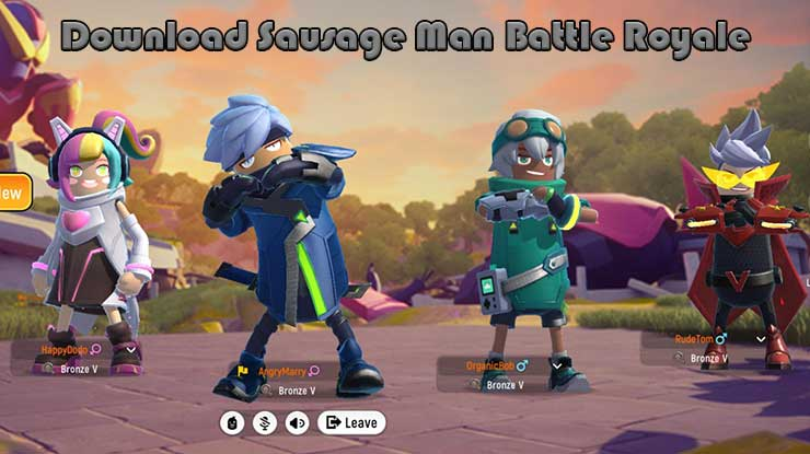 Download Sausage Man Battle Royale