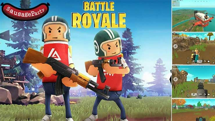 Syarat Download Sausage Man Battle Royale di Android