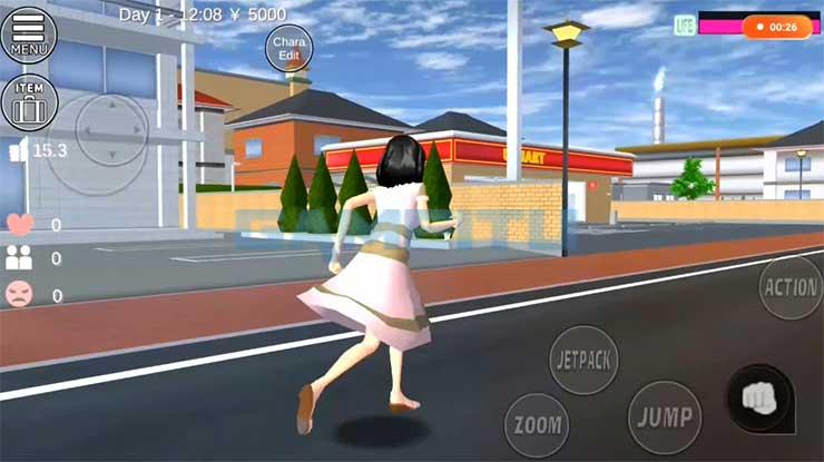 Temui Karakter Lain di Sakura School Simulator