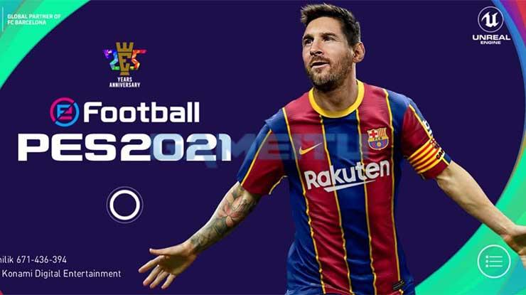 Buka Permainan PES 2021 Mobile