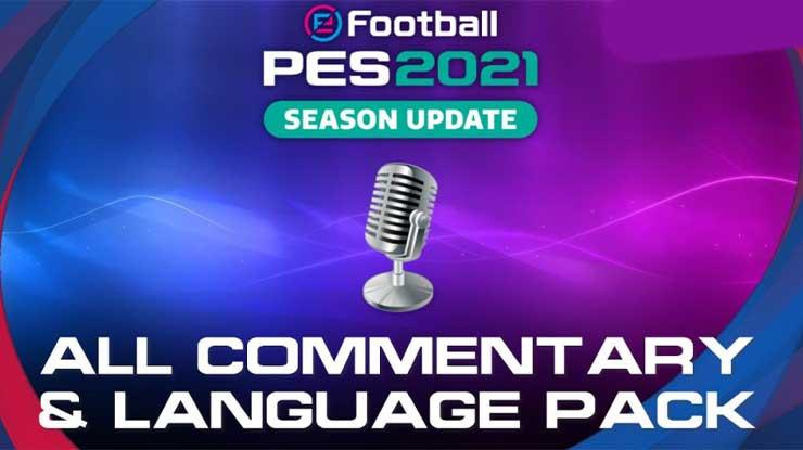 Daftar Bahasa Komentar di PES 2021 Mobile
