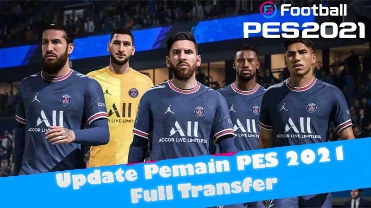 Cara Update Pemain PES 2021 PS4 Full Transfer
