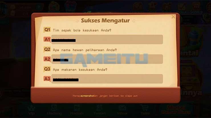 Screenshot Tampilan