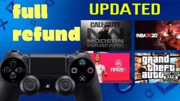 Cara Refund Game di PS4 100 Uang Kembali